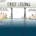 Debt Flood Cartoon