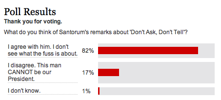 New York Daily News DADT Poll