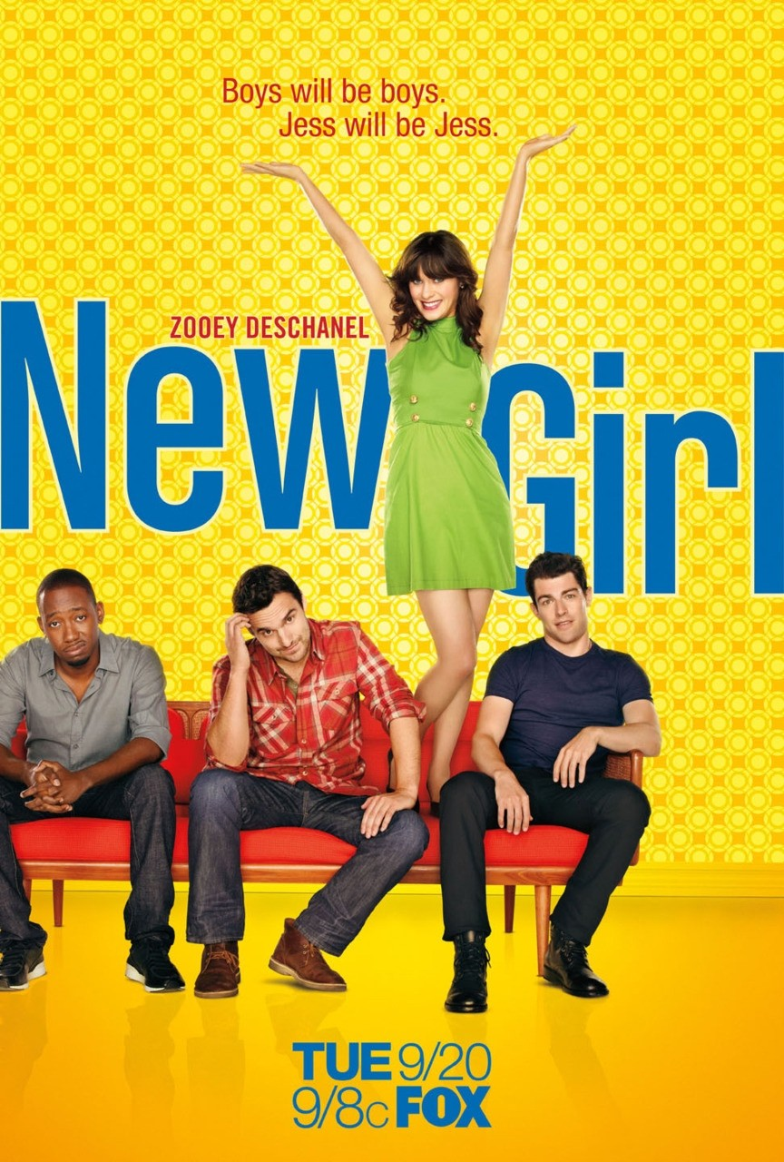 the new girl Sitcom centered on jess day, a sweet but naive twentysomething, who shares a loft with three guys.