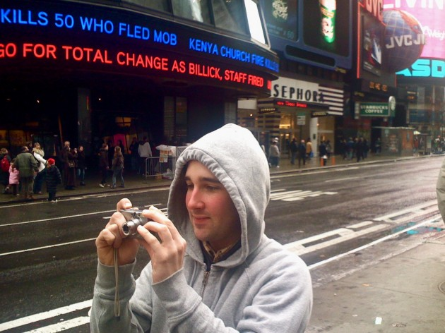 Ryan at Times Square