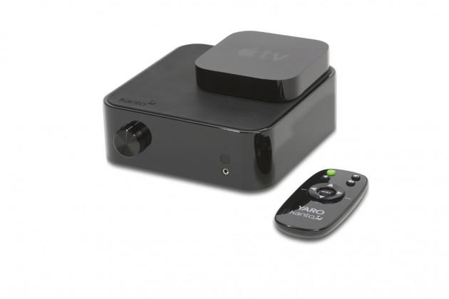 Kanto Yaro Amp with AppleTV