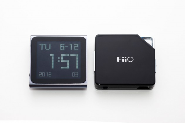 iPod Nano FiiO E6 Amplifier