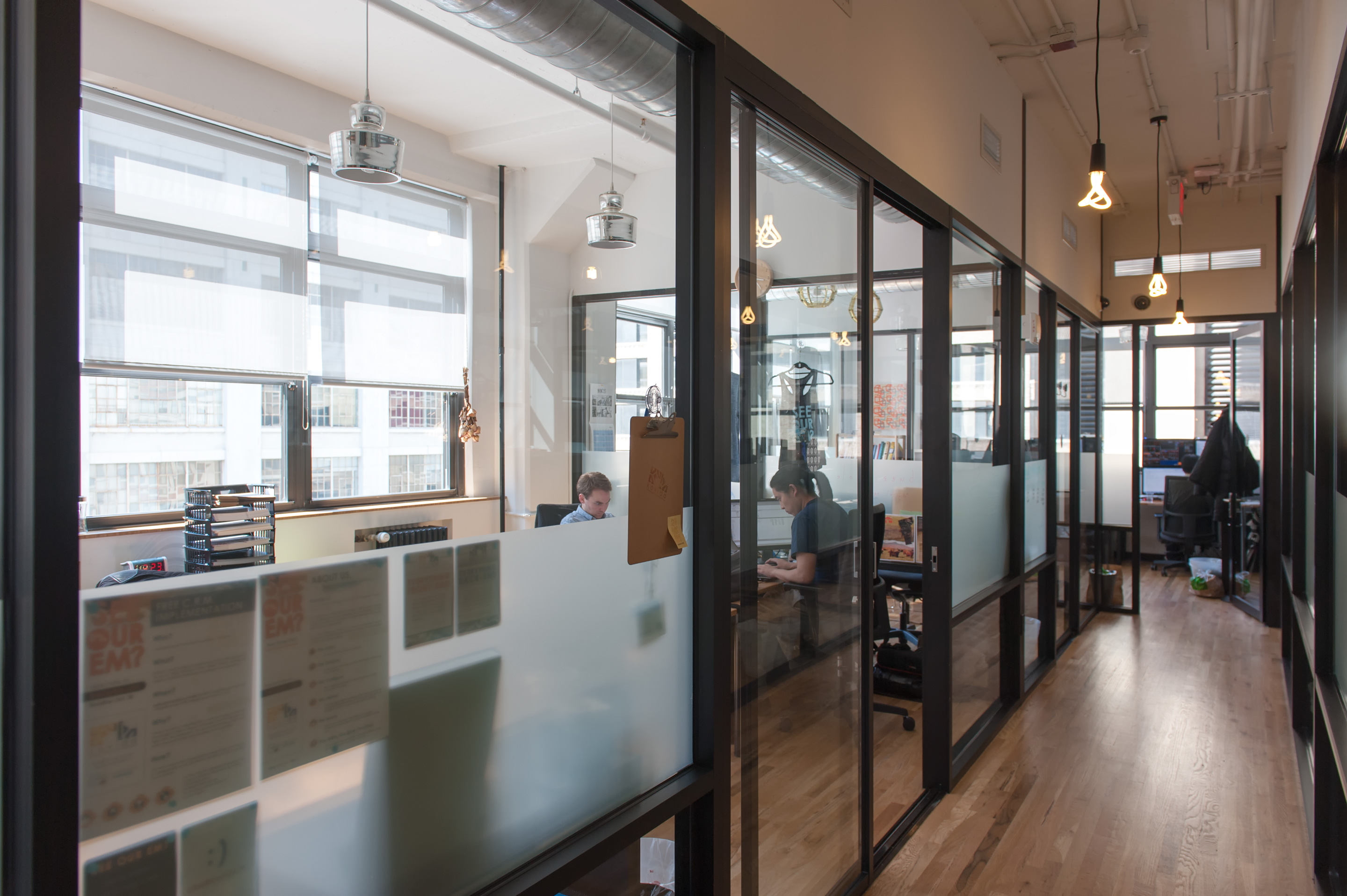 wework soho west bright office windows bright office