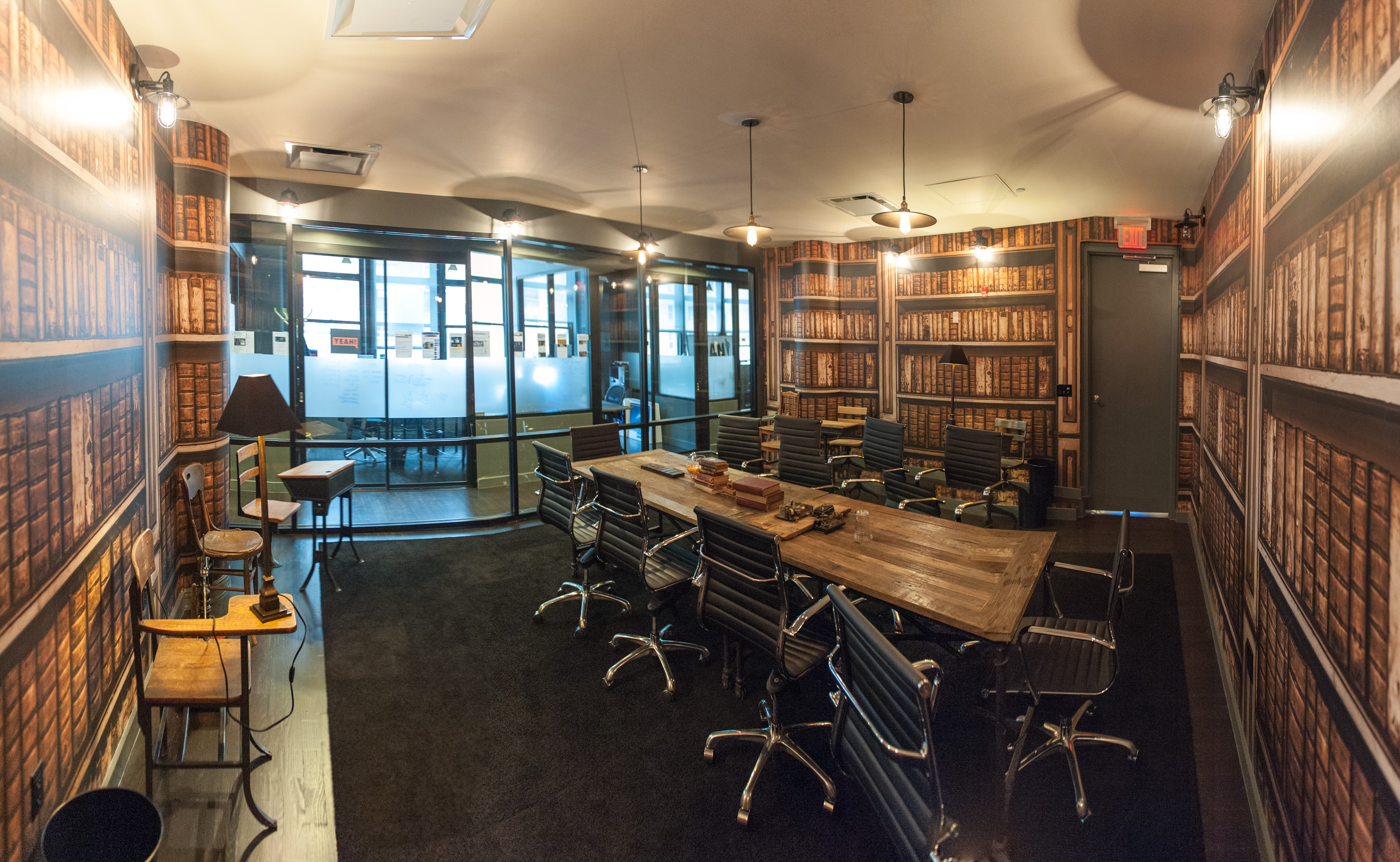 Wework Soho West Library Writing Room It S Just Justinit