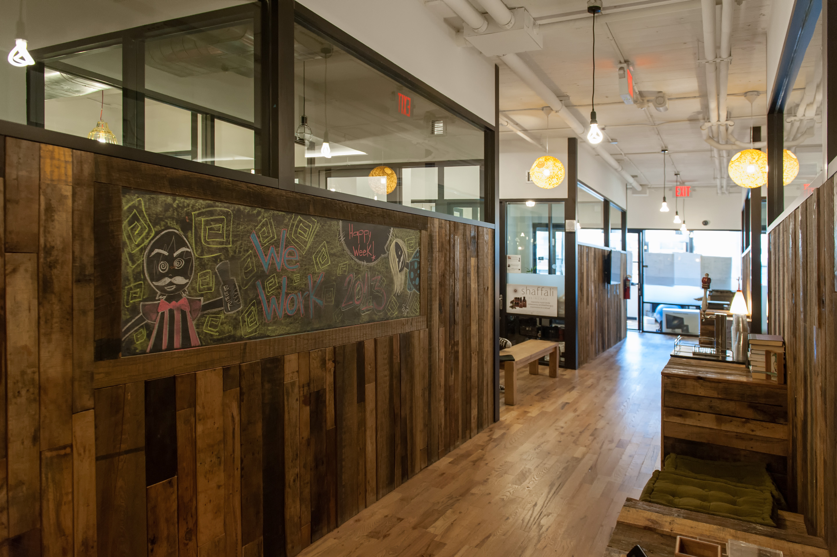 Wework Soho West Wood Lobby It S Just Justinit S Just Justin