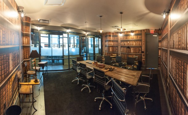 WeWork SoHo West Library Writing Room